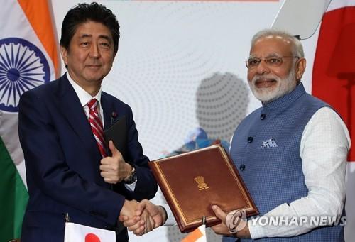 일본·인도, 중국 겨냥해 로봇·AI 국방협력 '착착'