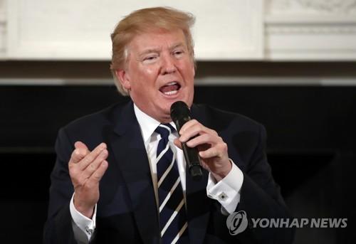"""트럼프 """"사상최대 대북제재…선박·해운사 등 대상""""(종합)"""