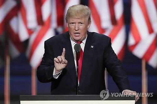 """트럼프 """"대북제재 효과없으면 제2단계로 가야할 것"""""""