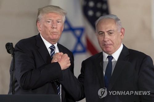미국 '예루살렘 대사관' 속도전 충돌격화 우려…평화협상 먹구름