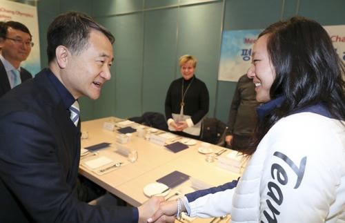 아이스하키 박윤정 선수 '입양아 뿌리찾기' 홍보대사 위촉
