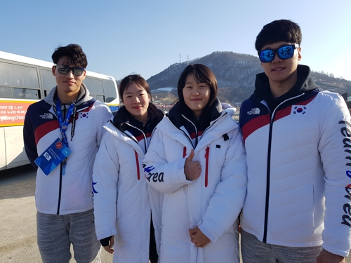 [올림픽] '숨은 영웅' 알파인스키 남녀 국가대표팀 인터뷰