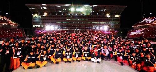 '안전패럴림픽 주역' 강원소방, 109명 구조·응급처치