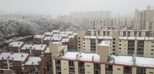 폭설에 대구·경북 도로 17곳 교통통제