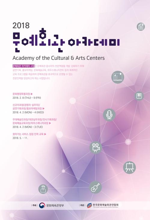 문예회관 전문인력 양성…내달 2~4일 '문예회관아카데미'