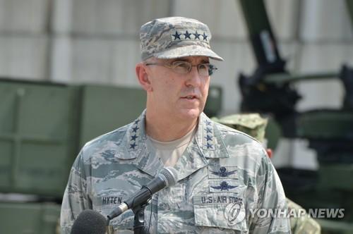 """미 전략사령관 """"극초음속무기 방어체계 아직 갖추지 못했다"""""""