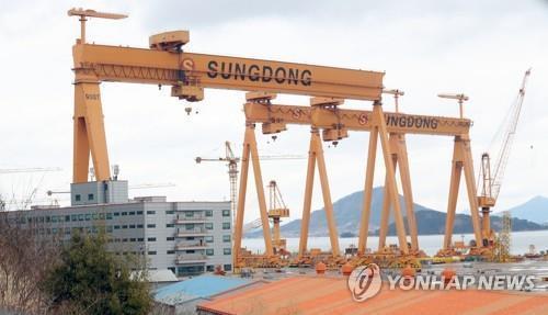 성동조선해양, 창원지방법원에 법정관리 신청