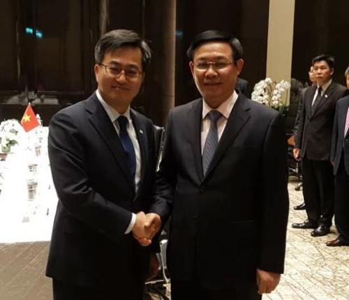 김동연, 베트남 부총리와 회담…보호무역주의에 공동 대응