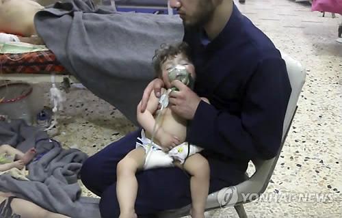 [SNS돋보기] 시리아서 화학무기 사용 의혹에 누리꾼들 '분노'