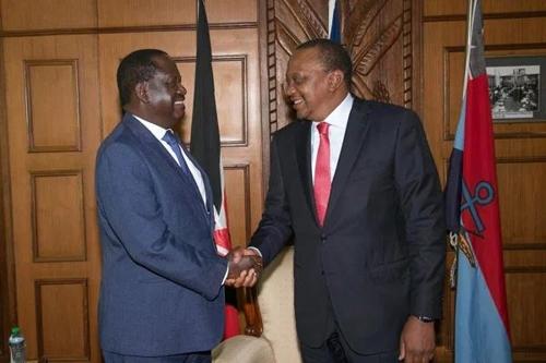 케냐, 여야 지도자 화해로 살얼음판 정국에 훈풍