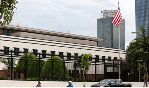 주캄보디아 미국 대사관, 폭탄 테러 주의보 발령