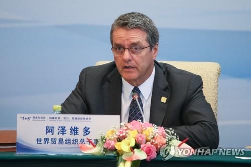 "WTO ""올 세계무역 4.4%↑ 전망…무역전쟁 땐 성장흐름 훼손"""