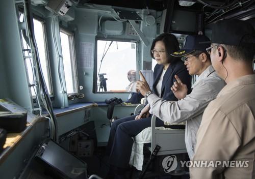 中 실탄훈련에 대만 '맞불'…해군·미사일 부대에 비상대기령