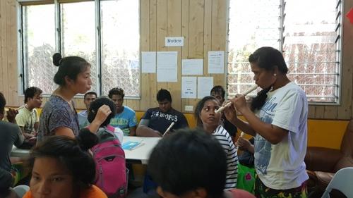 한국 대학생들, 수몰 위기 섬나라 키리바시서 대안학교 열었다