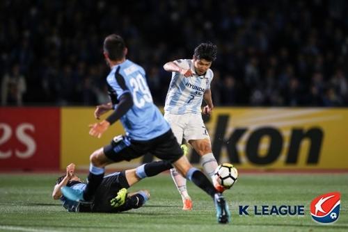 울산, AFC 챔스리그 F조 최종전서 가와사키와 무승부