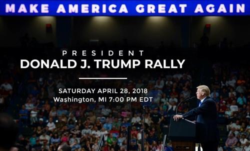 트럼프, 올해도 출입기자 만찬 불참…지자자 집회 열기로