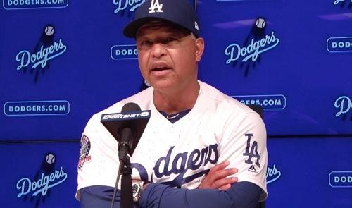 """다저스 감독 """"류현진, 몸쪽·바깥쪽 배합 좋고 모든 구종 훌륭"""""""