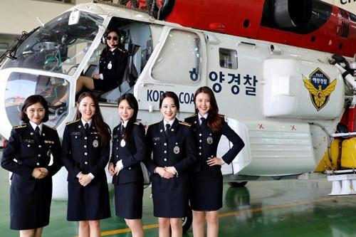"""벚꽃 아가씨들 """"군산해경 제대로 알릴게요""""…홍보대사 위촉"""