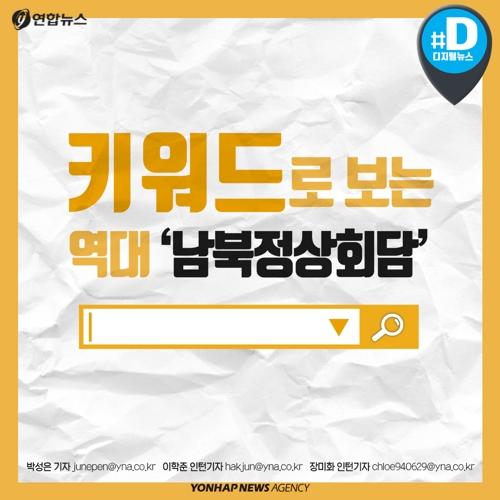 [카드뉴스] 키워드로 본 역대 남북정상회담