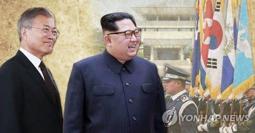 [남북정상회담] 김정은 공식환영식 시작…국군 의장대 사열