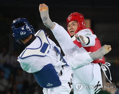 (AMPLIACIÓN)- El surcoreano Cha Dong-min gana la medalla de bronce en taekwondo