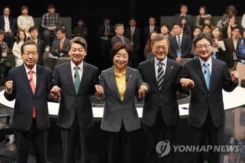 Realmeter: El candidato favorito Moon amplía su diferencia con Ahn