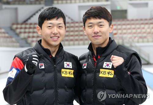 Los mellizos surcoreanos de curlin comparten sueños dorados para las olimpiadas