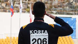 세계군인체육대회 개막 8일째…사흘 연속 멀티 금메달