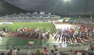 우리는 하나!…'아듀' 군인올림픽