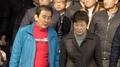 Park Geun-hye s'est rendue au marché incendié Seomun à Daegu