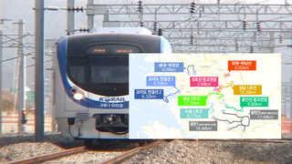 경기도 도시철도 대폭 확충…2025년까지 9개 노선 신설