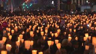 부산ㆍ광주ㆍ대구ㆍ제주…전국 곳곳 촛불 가득