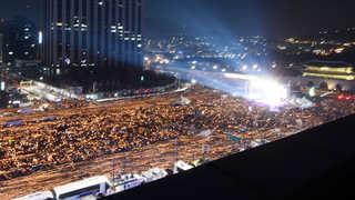 """""""232만 촛불 모였다""""…'즉각 퇴진' 집회 마무리"""