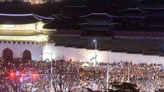 """[뉴스초점] """"전국 232만명 모였다""""…식지않는 촛불 열기"""