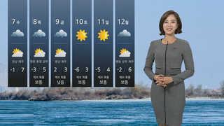 [날씨] 전국 미세먼지 가득…내일 아침 영하권 추위
