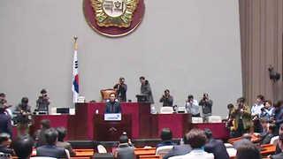 민주ㆍ국민의당, 탄핵안 부결시 '의원직 총사퇴' 배수진