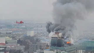15층 건물 태운 '불장난'…중학생 6명 입건