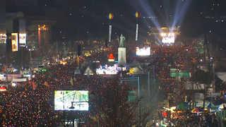 내일도 청와대 100m 앞 촛불행진…보수단체도 '맞불'