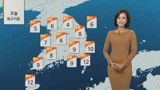 [날씨] 낮 평년기온 회복…미세먼지 농도 '보통'