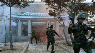 북 김정은, 청와대 등 남한 시설물 타격훈련 참관