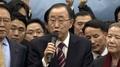 El exjefe de la ONU acelera su campaña preliminar para la presidencia