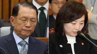 '블랙리스트' 의혹 김기춘ㆍ조윤선 특검 출석
