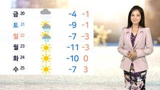 [날씨] 전국 미세먼지 '나쁨'…아침 서울 '영하 4도'