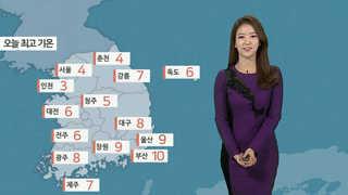 [날씨] 전국 미세먼지 비상…오늘 밤 중부 많은 눈