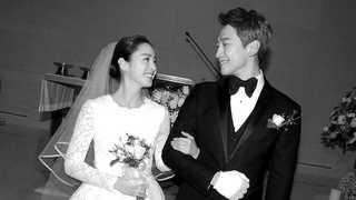 비ㆍ김태희, 부부됐다…결혼식 '007작전' 방불
