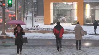 수도권 폭설…출근길 교통대란 우려