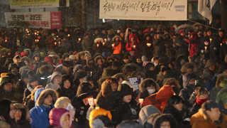 """[뉴스초점] 1월 마지막 집회 """"재벌구속"""" vs """"탄핵반대""""…반환점 돈 .."""