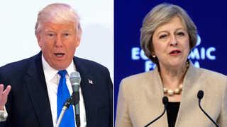 트럼프 첫 정상회담은 영국 총리…다음은 멕시코
