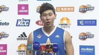[프로농구] '화끈한 덩크쇼' 올스타전…오세근 첫 MVP