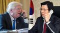 Le président par intérim a eu une conversation téléphonique avec Trump
